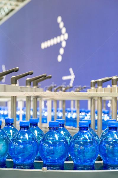 Bottling line Stock photo © pixpack