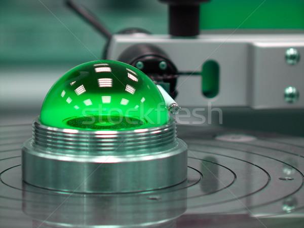 Green calibration ball Stock photo © pixpack