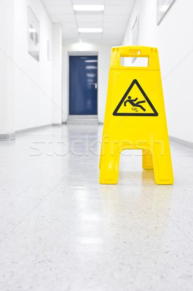 Stock photo: Slip hazard