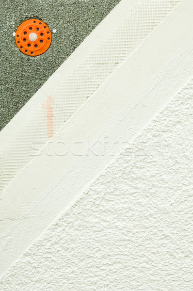 Layers of a facade plaster Stock photo © pixpack