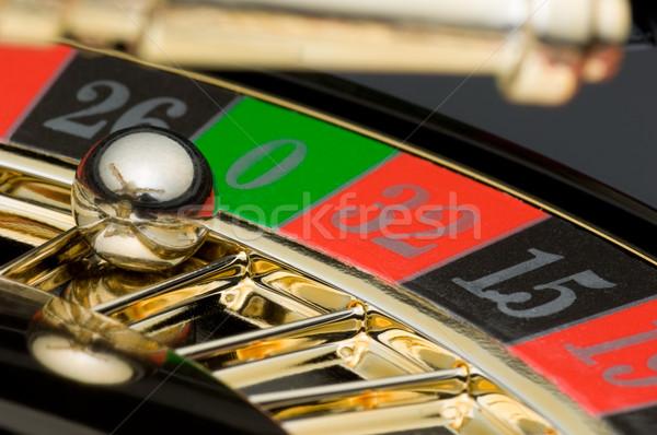 Ruletka zielone czerwony czarny gry Gamble Zdjęcia stock © pixpack