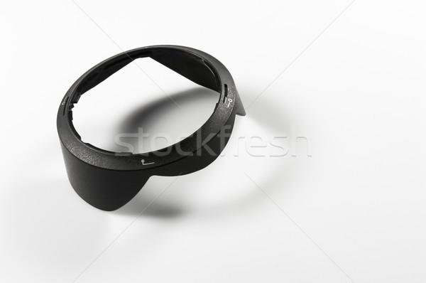 Camera lenshood Stock photo © pixpack