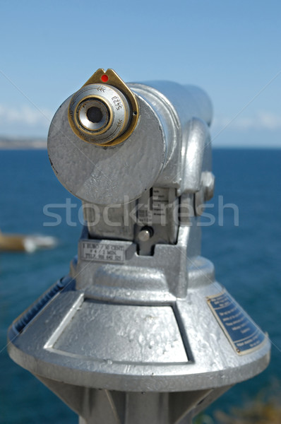 Binocular at the coastline Stock photo © pixpack