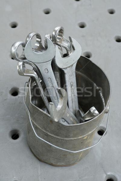 レンチ 錫 金属 ツール 鋼 鉄 ストックフォト © pixpack