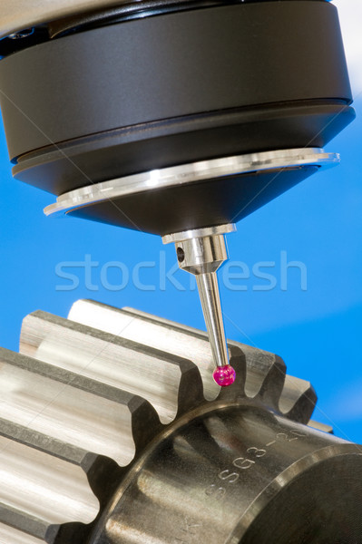 3-D -coordinate-measuring Stock photo © pixpack