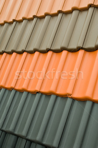 Roof tiles Stock photo © pixpack