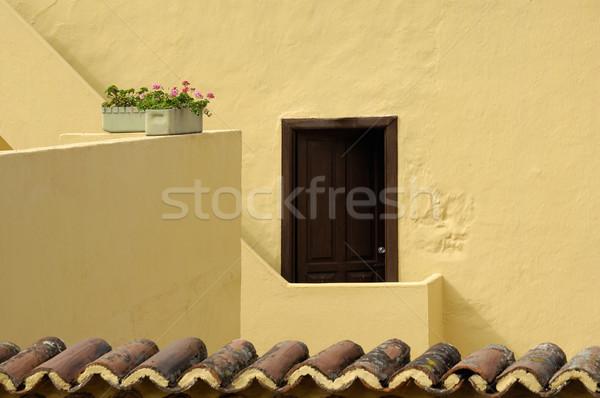 Roof terrace Stock photo © pixpack