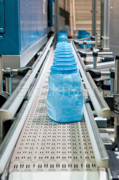 Mass production of plastic cups Stock photo © pixpack