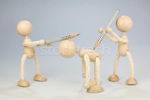 Megfélemlítés munka Stock fotó © pixpack