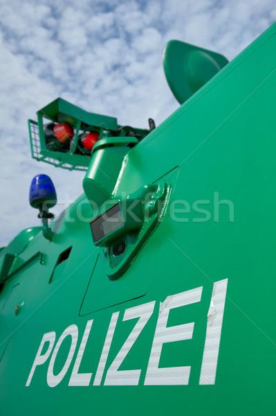 警察 車両 車 緑 青 緊急 ストックフォト © pixpack