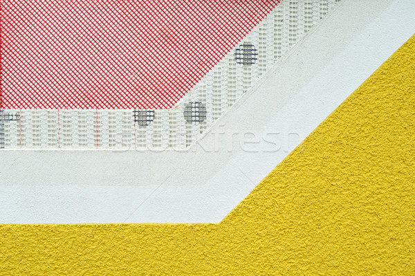 Layers of a facade plastering Stock photo © pixpack