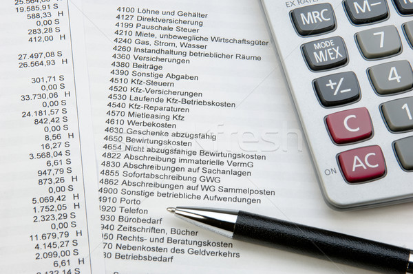 Accounting Stock photo © pixpack
