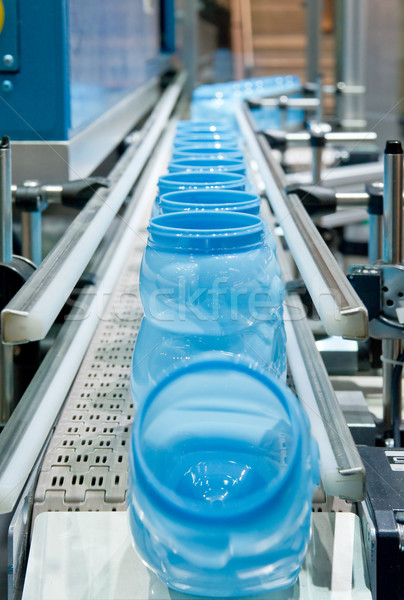 Massa produção plástico Foto stock © pixpack