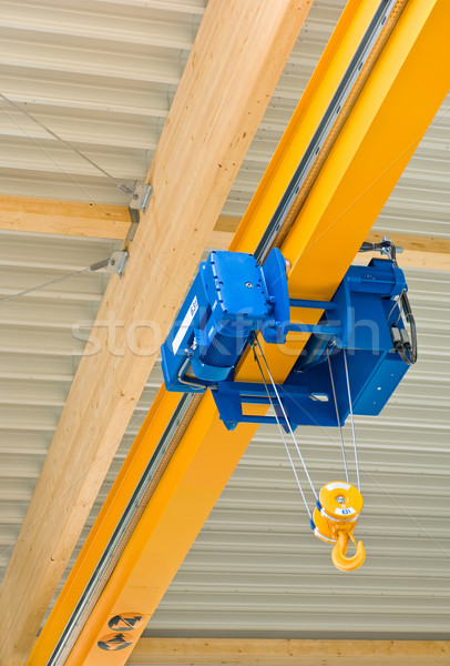 Overhead hall crane Stock photo © pixpack
