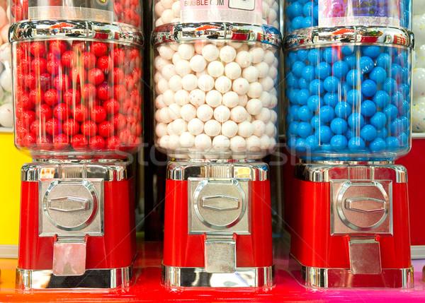 Bubble gum machine Stock photo © pixpack