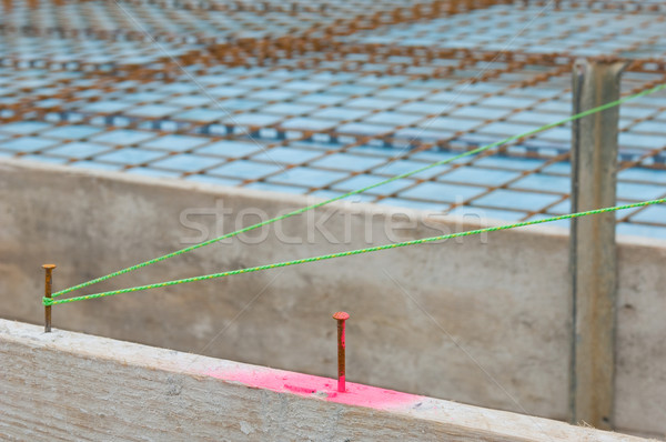 Baseplate on a construction site Stock photo © pixpack
