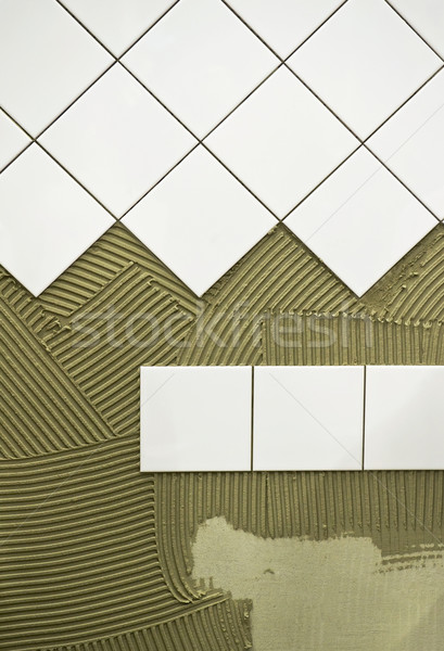 Wall tile glue Stock photo © pixpack