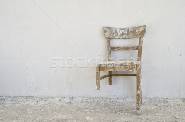 Old broken chair  Stock photo © pixpack