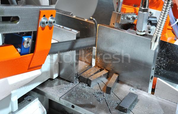 Metal hacksaw Stock photo © pixpack
