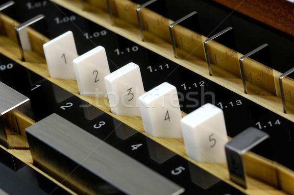 Gauge block set Stock photo © pixpack