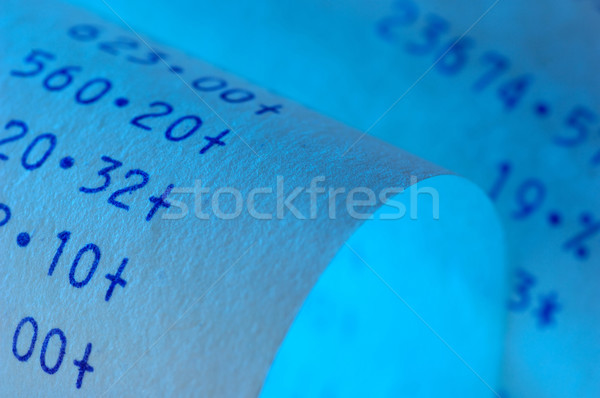Niebieski papieru maszyny Zdjęcia stock © pixpack