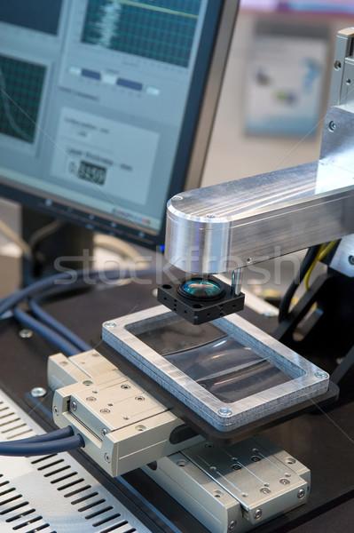 Mérés vezetőség irányítás gyártás termény tökéletesség Stock fotó © pixpack