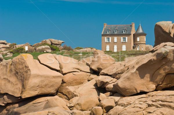 花崗岩 岩 海岸 ランドマーク ストックフォト © pixpack