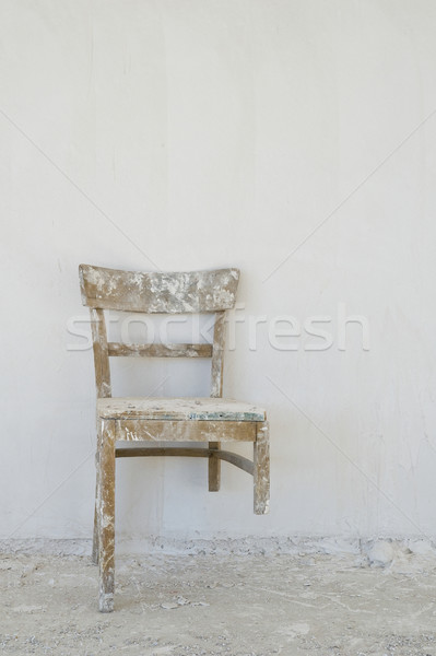 Old broken chair at  Stock photo © pixpack