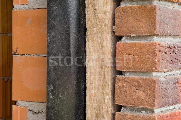 Yalıtım ev duvar Stok fotoğraf © pixpack