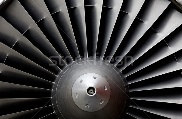 Jet-Turbine Stock photo © pixpack