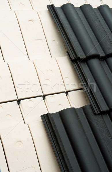 Roof tiling Stock photo © pixpack