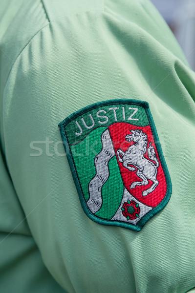 Gömlek yeşil kırmızı hapis hapis bekçi Stok fotoğraf © pixpack