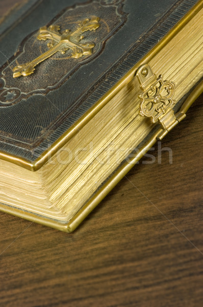 Old bible  Stock photo © pixpack