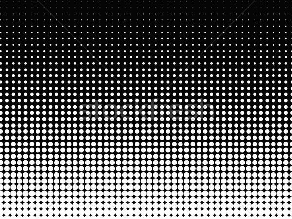 Halftone background. Black-white Stock photo © PiXXart