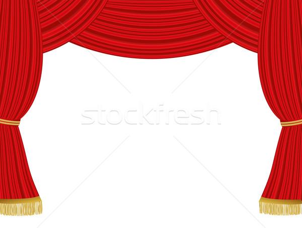Theater curtains background Stock photo © PiXXart