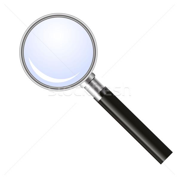 Magnifying glass Stock photo © PiXXart