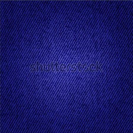 Dark blue jeans texture background Stock photo © PiXXart
