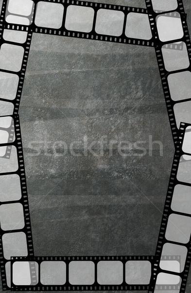 кинопленка кадр аннотация фильма кино ретро Сток-фото © PiXXart