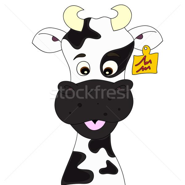 Cow cartoon Stock photo © PiXXart