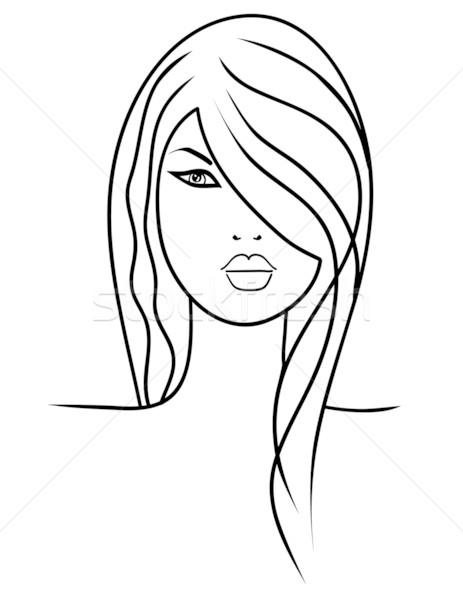 Attractive young woman Stock photo © PiXXart