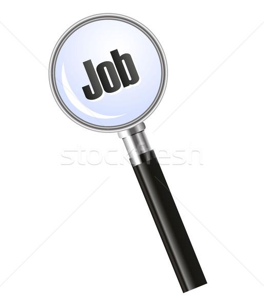 Looking for job - concept Stock photo © PiXXart