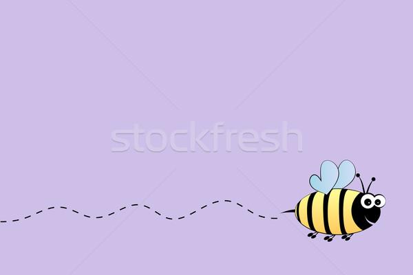 Bee flight background Stock photo © PiXXart
