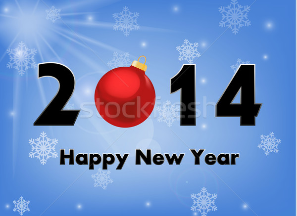 2014 new year background Stock photo © PiXXart