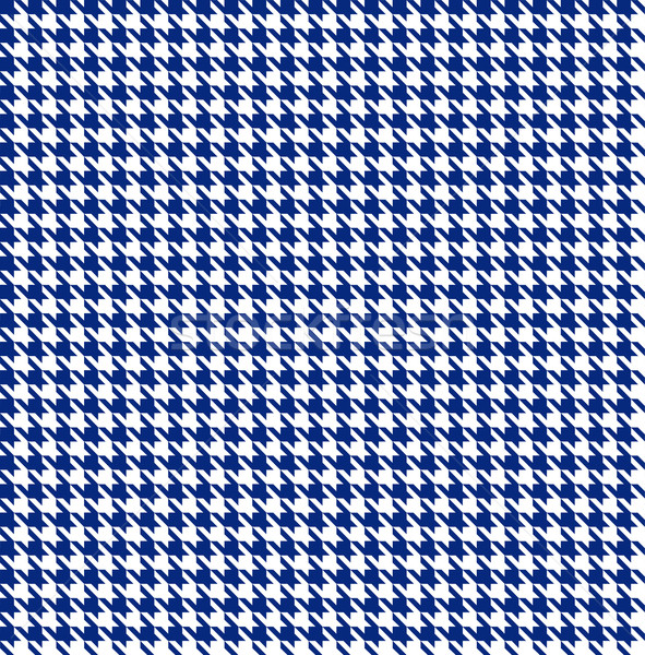 Bezszwowy projektu niebieski tkaniny retro biały Zdjęcia stock © PiXXart