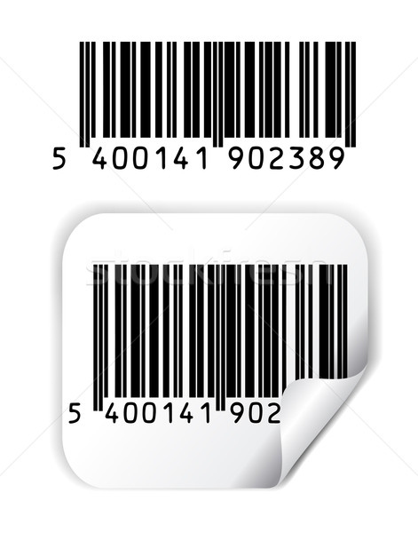 Bar code vector Stock photo © PiXXart