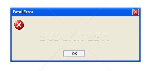 Error pop up window Stock photo © PiXXart