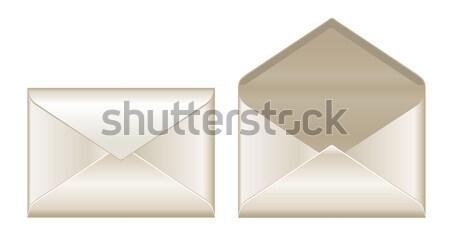 Open and closed envelopes Stock photo © PiXXart