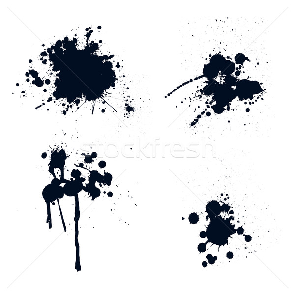 Ink splatters Stock photo © PiXXart