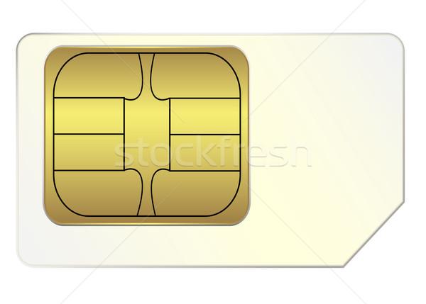 SIM card Stock photo © PiXXart