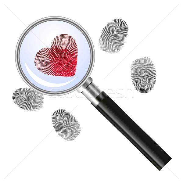 Looking for love - concept Stock photo © PiXXart